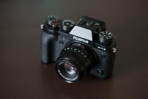 Fuji X-T2 with 35mm f/2 WR